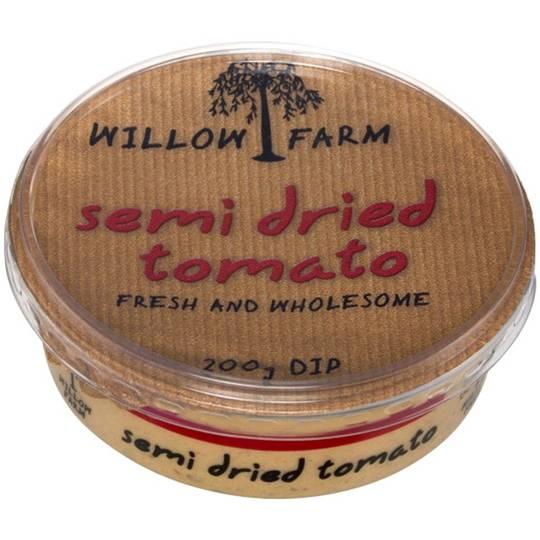 Willow Farm Dip Semi Dried Tomato