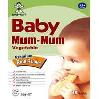 Baby Mum Mum Snack Vegetable Rice Rusk