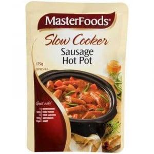 Masterfoods Slow Cooker Sausage Hot Pot