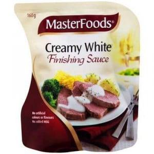 Masterfoods Finishing Sauce Creamy White