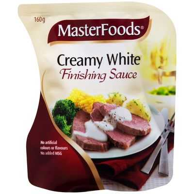 Masterfoods Finishing Sauce Creamy White