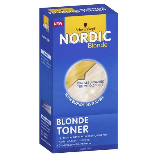 Schwarzkopf Nordic Blonde Toner