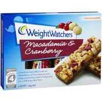 Weight Watchers Macadamia & Cranberry Bars