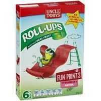 Uncle Tobys Rollups Strawberry Funprint