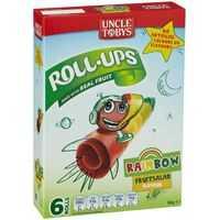 Uncle Tobys Rollups Rainbow Fruit Salad
