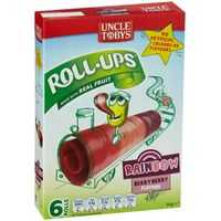 Uncle Tobys Rollups Rainbow Berry