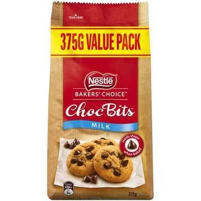 Nestle Baker's Choice Choc Bits Milk