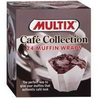 Multix Patty Pans Café Collection Muffin Wraps