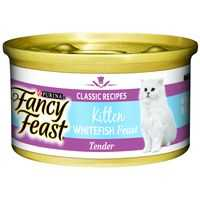 Fancy Feast Kitten Food Tender Ocean Whitefish Feast