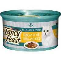 Fancy Feast Sensations Adult Cat Food Tuscan Tuna Rice