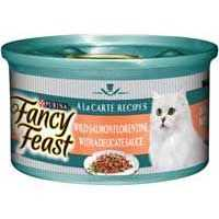 Fancy Feast Adult Cat Food Salmon Florentine