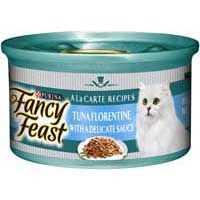 Fancy Feast Sensations Adult Cat Food Florentine Tuna