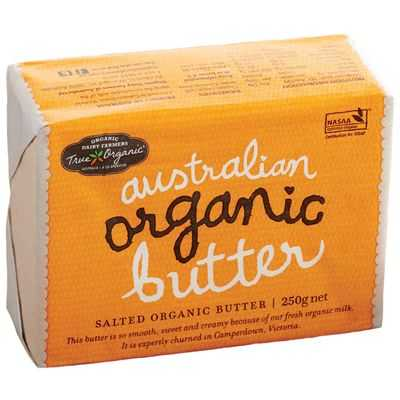 True Organics Salted Butter