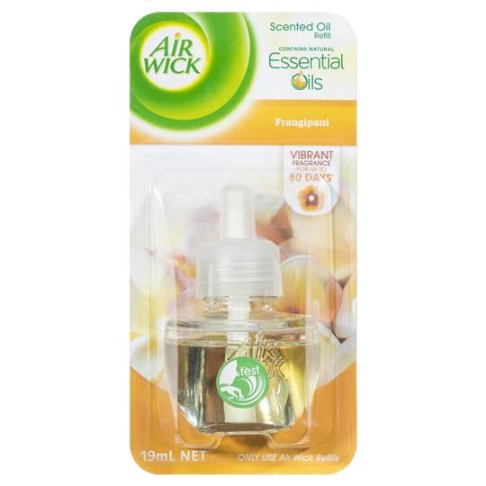 mom81879 reviewed Air Wick Plug-in Air Freshener Frangipani Refil