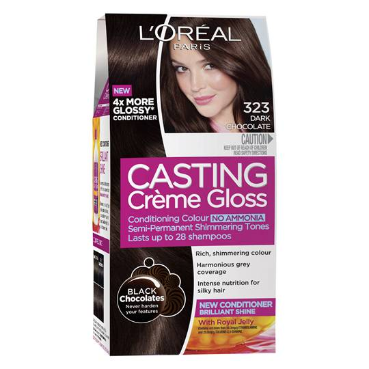 L'oreal Casting Crème Gloss 323 Dark Chocolate
