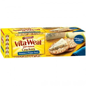 Arnott's Vita-weat Cracker Sesame & Poppy Seeds