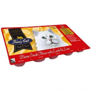 Vip Adult Cat Food Mince With Lamb & Liver