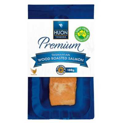 Huon Tasmanian Smoked Salmon Wood Roasted