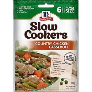 Mccormick Slow Cookers Country Style Casserole