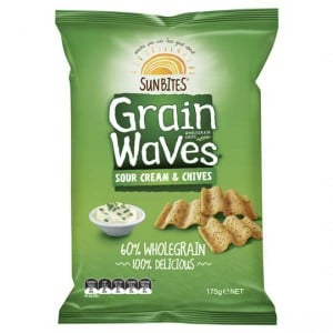 Sunbites Grain Waves Sour Cream & Chives