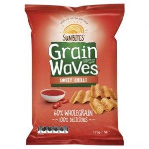 Sunbites Grain Waves Sweet Chilli