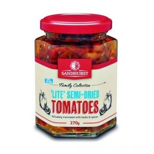 Sandhurst Tomatoes Semi Dried 97% Fat Free