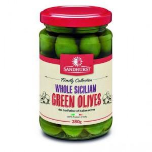 Sandhurst Olives Green Sicilian