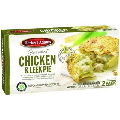 Herbert Adams Pies Creamy Chicken & Leek