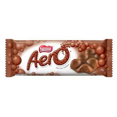 Nestle Aero Milk Chocolate