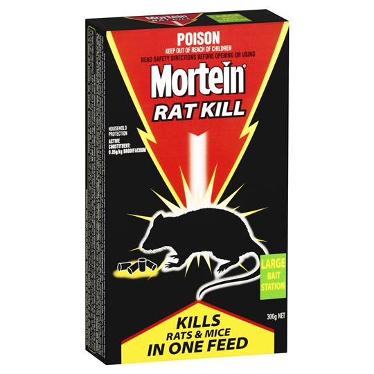 Mortein Baits Rat Kill Bait Station Large
