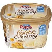 Peters Light & Creamy Ice Cream French Vanilla