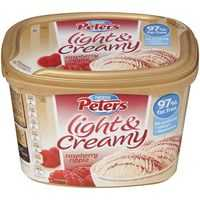 Peters Light & Creamy Ice Cream Raspberry Ripple