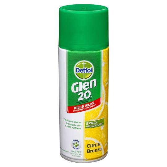 Glen 20 Disinfectant Spray Citrus Breeze