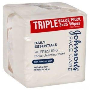 Johnson's Facial Wipes Normal Skin
