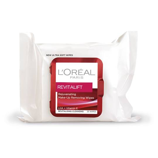 L'oreal Revitalift Facial Wipes