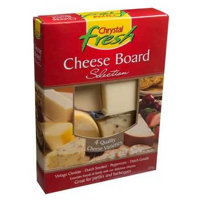 Chrystal Fresh Cheese Selection Board