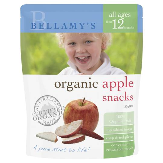 Simone reviewed Bellamys Organic Snack Apple