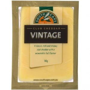 South Cape Vintage Club Cheddar Cheese