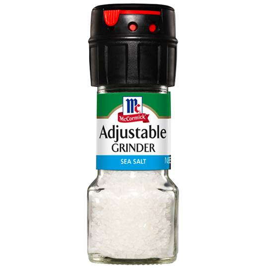 Mccormick Salt Grinder Adjustable
