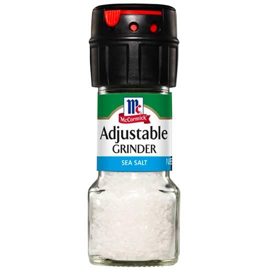Mccormick Salt Grinder Adjustable