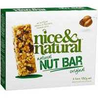 Nice & Natural Nut Bar Original
