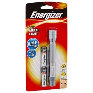 Energizer Metal Led Flashlight 2 Aa