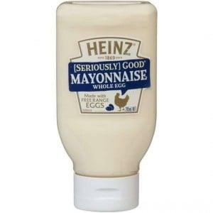 Heinz Seriously Good Whole Egg Mayonnaise