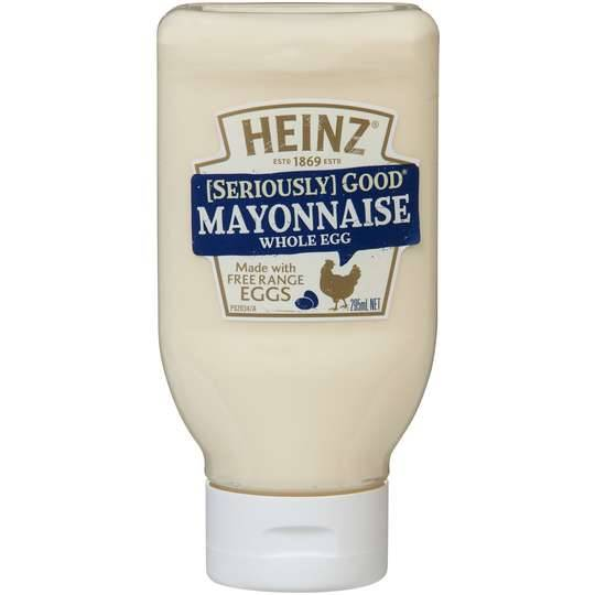 Heinz Seriously Good Whole Egg Mayonnaise
