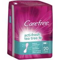 Carefree Acti-fresh Panty Liners Thin Tea Tree