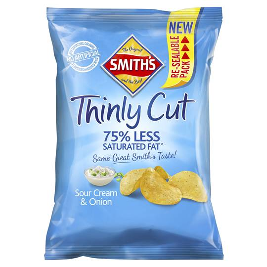 Smith's Chips Share Pack Sour Cream & Onion