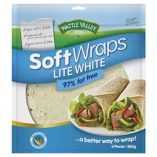 Wattle Valley Wraps Lite White