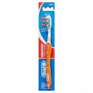 Oral-b All Rounder Toothbrush Fresh Clean Soft