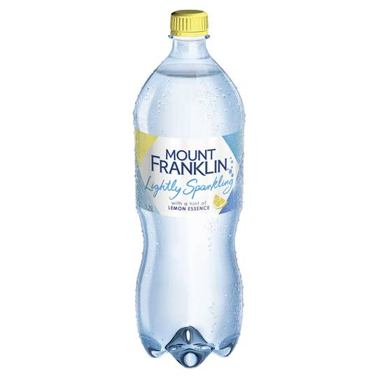 Mount Franklin Lightly Sparkling Lemon Water