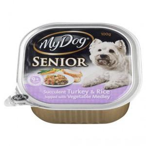 My Dog Adult Dog Food Senior Turkey Rice & Vegetable